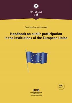 HANDBOOK ON PUBLIC PARTICIPATION IN THE INSTITUTIONS OF THE EUROPEAN UNION
