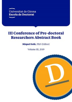 III CONFERENCE OF PRE-DOCTORAL RESEARCHERS ABSTRACT BOOK